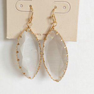 *3/$20* wire wrapped stone  drop earrings